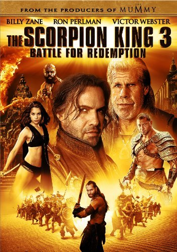 Scorpion King 3 Battle For Re Perlman Zane Aws Pg13