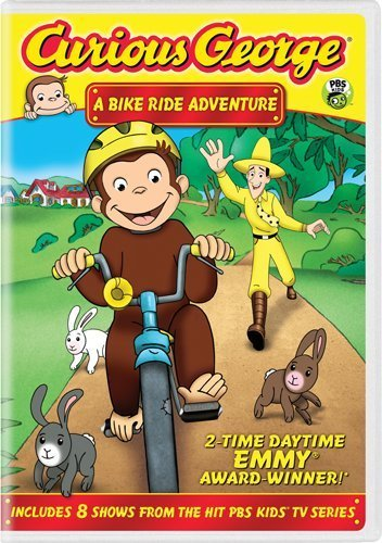 Curious George Bike Ride Adventure DVD Nr