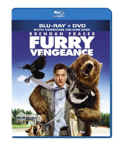 Furry Vengeance Fraser Shields Prokop Blu Ray Ws Pg Incl. DVD