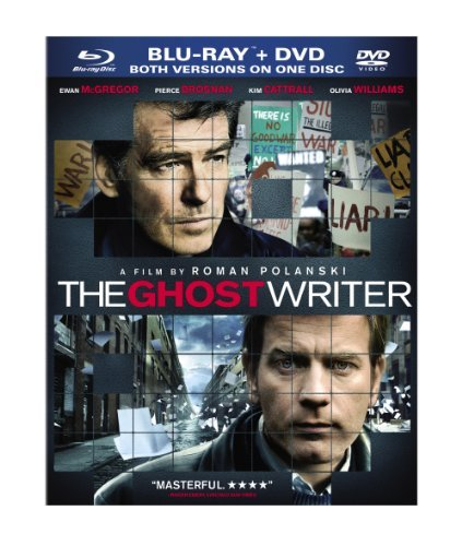 Ghost Writer Brosnan Williams Cattrall Blu Ray Ws Pg13 Incl. DVD