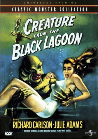 Creature From The Black Lagoon Carlson Adams Denning Bw Cc Fra Sub Keeper Nr