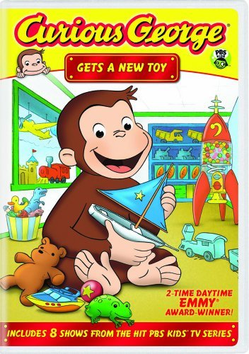 Curious George Gets A New Toy DVD Nr