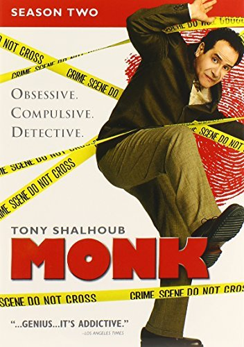 Monk Season 2 DVD Nr 4 DVD
