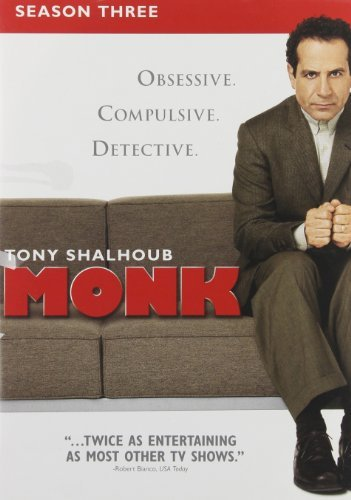 Monk Season 3 DVD