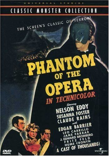 Phantom Of The Opera (1943) Eddy Rains Foster Cronyn Bw Cc Fra Sub Keeper Nr
