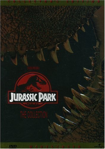Jurassic Park Lost World Collection Goldblum Attenborough Pg13 2 DVD