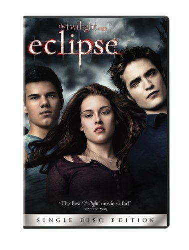 Twilight Eclipse Stewart Pattinson Lautner DVD Pg13 Ws