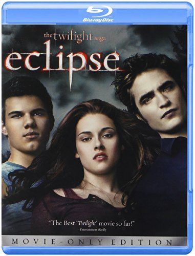 Twilight Eclipse Stewart Pattinson Lautner Blu Ray Pg13 Ws