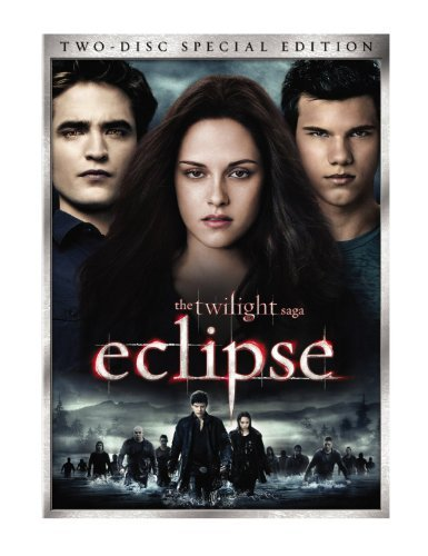 Twilight Saga Eclipse Stewart Pattinson Lautner Ws Pg13 2 DVD