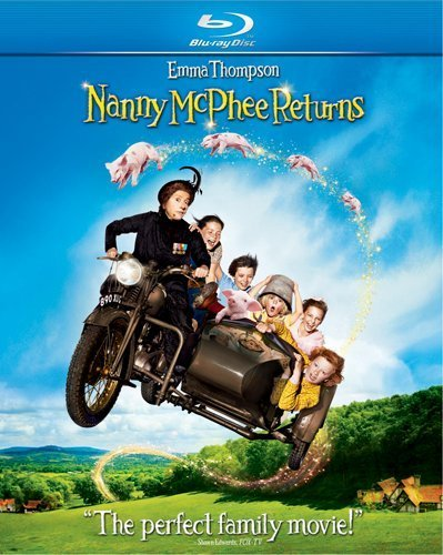 Nanny Mcphee Returns Thompson Gyllehall Smith Blu Ray Ws Pg
