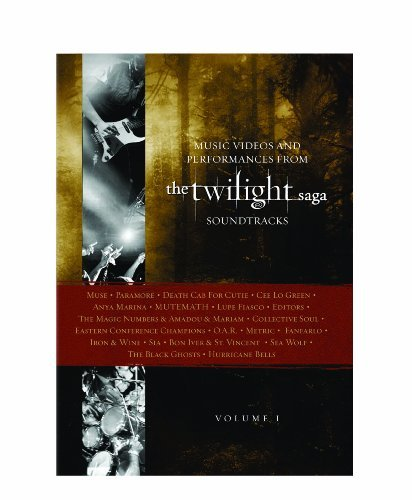Twilight Volume 1 Music Videos & Performances DVD