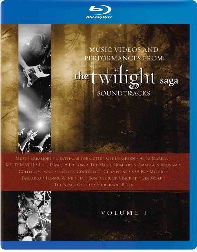 Twilight Volume 1 Music Videos & Performances Blu Ray