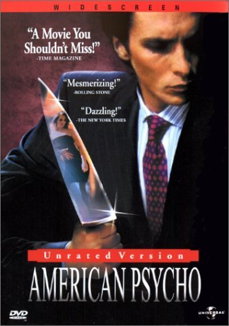 American Psycho Bale Witherspoon Sevigny Clr Cc 5.1 Aws Prbk 07 28 00 Nr