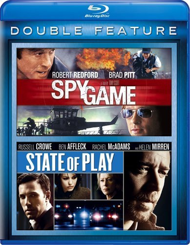 Spy Game State Of Play Spy Game State Of Play Blu Ray Ws R 2 Br