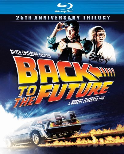 Back To The Future Trilogy Fox Lloyd Blu Ray 25th Anniversary Pg Ws