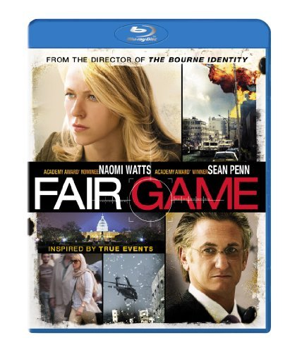 Fair Game Watts Penn Blu Ray Ws Pg13