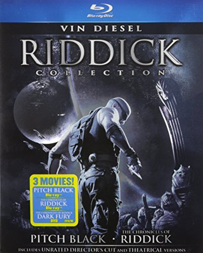 Riddick Collection Riddick Collection Blu Ray Ws R Incl. DVD