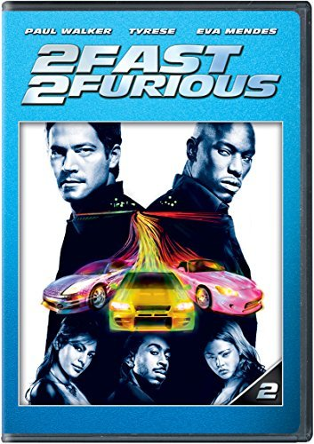 Fast & The Furious 2 Fast 2 Furious Walker Gibson Mendes Ludacris Pg13