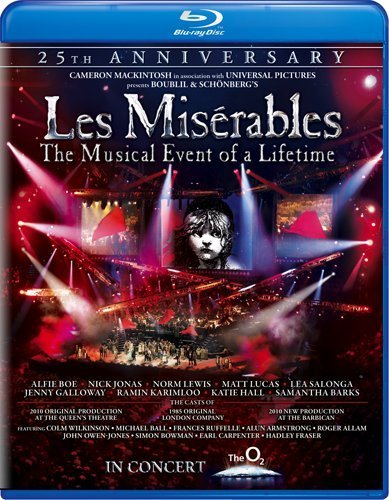 Les Miserables 25th Anniversar Boe Jonas Lewis Blu Ray Ws Nr
