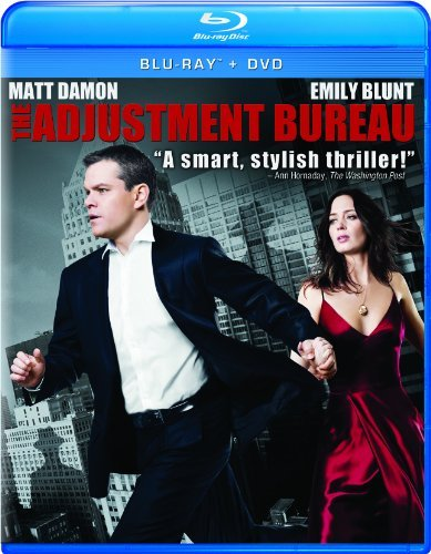 Adjustment Bureau Damon Blunt Pg13 Incl. Dc