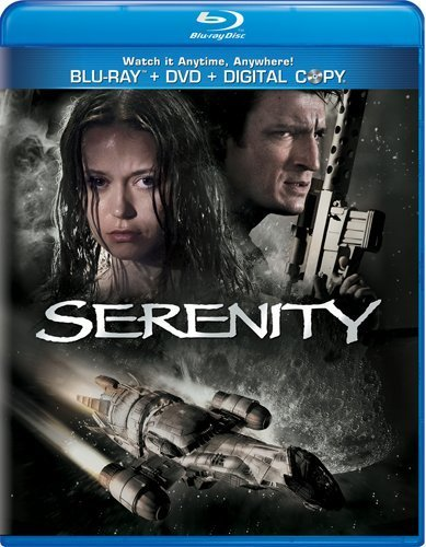 Serenity Serenity Aws Blu Ray Snap Pg13 Incl. DVD & Tech 30 Day F