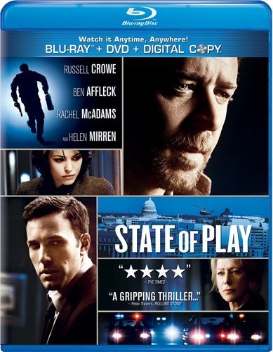 State Of Play State Of Play Blu Ray Aws Snap Pg13 Incl. DVD & Tech 30 Day F