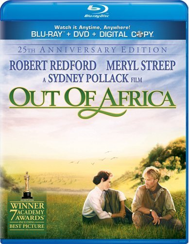 Out Of Africa Out Of Africa Aws Blu Ray Snap Pg Incl. DVD & Tech 30 Day Fre