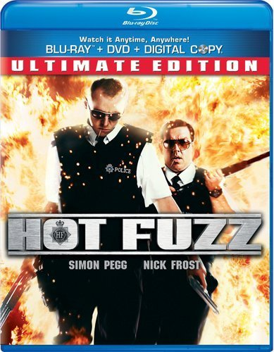 Hot Fuzz Hot Fuzz Blu Ray Aws Snap R Incl. DVD & Tech 30 Day Free