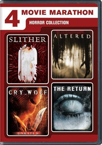 Horror Collection 4 Movie Marathon Horror Colle Aws R 2 DVD