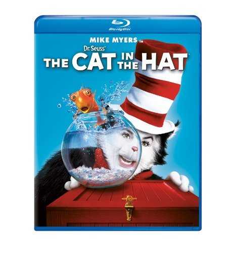 Dr. Seuss' The Cat In The Hat Myers Mike Blu Ray Ws Pg