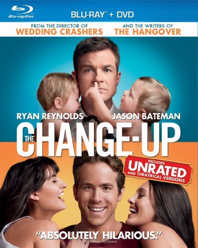 Change Up Reynolds Bateman Blu Ray Ws R Incl. DVD