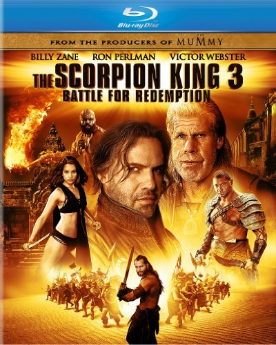Scorpion King 3 Battle For Re Perlman Zane Blu Ray Ws Pg13 Incl. DVD Dc Uv