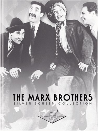 Marx Brothers Silver Screen Co Marx Brothers Silver Screen Co Clr Digipak Nr 6 DVD