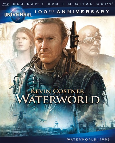 Waterworld Costner Hopper Tripplehorn Maj Blu Ray Ws 100th Annv Coll. Pg13 Incl. DVD Dc