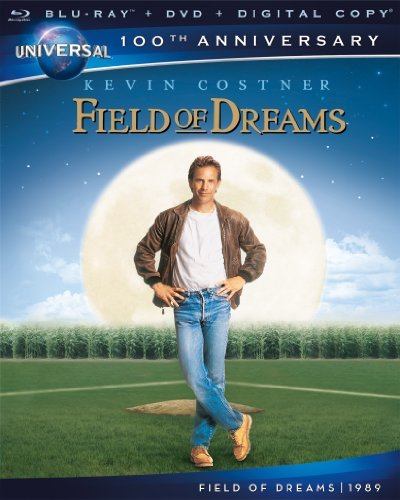 Field Of Dreams Costner Liotta Jones Blu Ray DVD Dc Pg