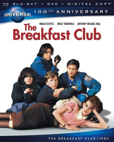 Breakfast Club Ringwald Estevez Hall Nelson Ws Blu Ray 100th Annv Coll. R Incl. DVD Dc