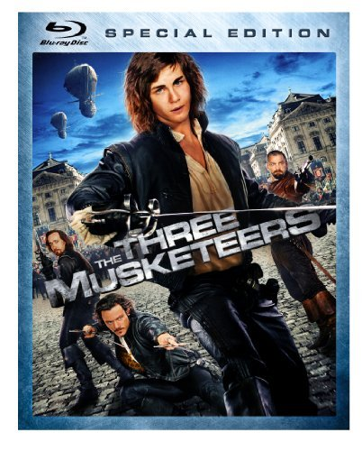 Three Musketeers (2011) Lerman Bloom Jovovich Blu Ray Ws Pg13