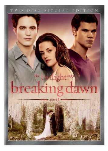 Twilight Breaking Dawn Part 1 Pattinson Stewart Lautner DVD Pg13 2 DVD