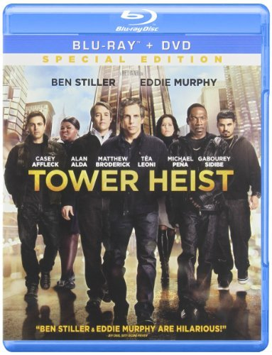 Tower Heist Stiller Murphy Alda Blu Ray Ws Pg13 Incl. DVD