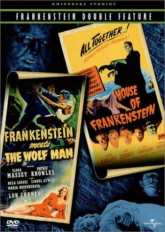 Frankenstein Meets The Wolfman Lugosi Chaney Jr. Karloff Bw Nr 2 On 1