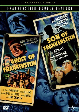Son Of Frankenstein Ghost Of F Rathbone Chaney Jr. Bw Nr 2 On 1