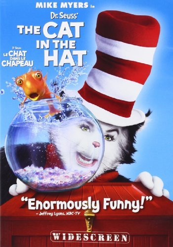 Cat In The Hat Myers Baldwin Fanning DVD Pg Ws