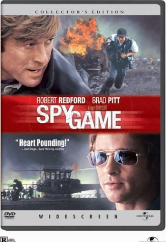 Spy Game Redford Pitt R Coll. Ed.