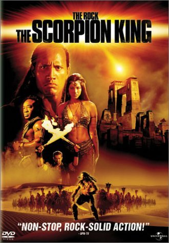 Scorpion King Johnson Duncan Hu Clr Ws Pg13 Coll. Ed.