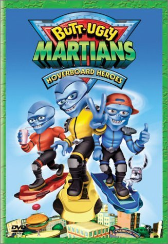 Butt Ugly Martians Hoverboard Heroes Clr Nr