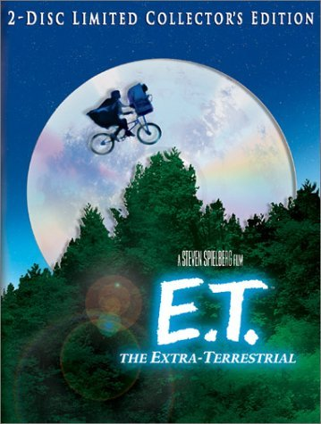 E.T. The Extra Terrestrial Barrymore Thomas Wallace Coyot Clr Ws Prbk 09 02 02 Pg 2 DVD Lmtd Ed