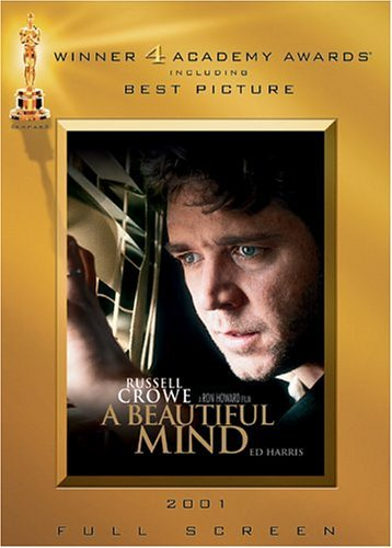 Beautiful Mind Crowe Connelly Harris Clr 5.1 Pg13 Awards Ed.