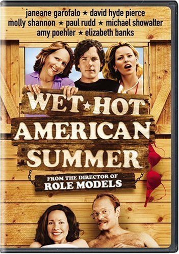 Wet Hot American Summer Garofalo Hyde Pierce Shannon Rudd Showalter DVD R Ws