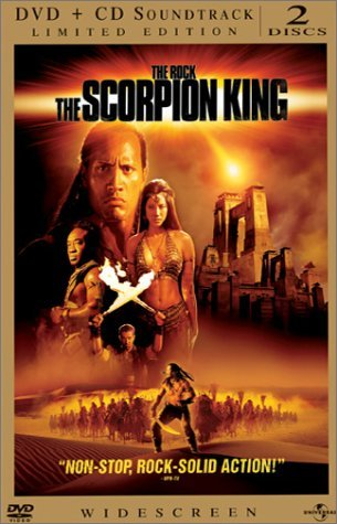 Scorpion King Johnson Duncan Hu Clr Ws Pg13 Lmtd Ed.