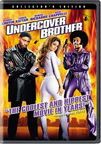 Undercover Brother Griffin Kattan Richards Chappe Pg13 Coll. Ed.